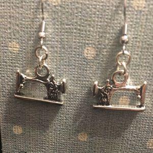 Seamstress Earrings by Designs by Jan